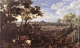 Adam Frans Van Der Meulen The Army of Louis XIV in front of Tournai in 1667 painting
