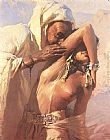 Adam Styka Desert Seduction painting