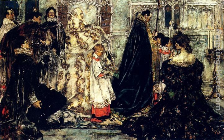 Albert B. Wenzell A Medieval Christmas--The Procession