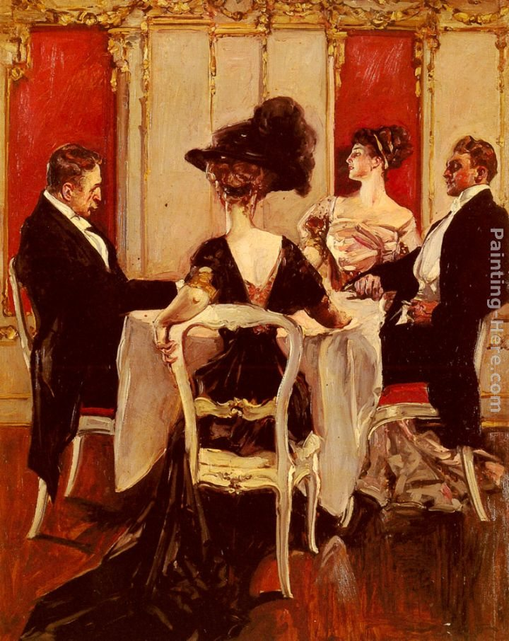 Albert B. Wenzell Idle Conversation
