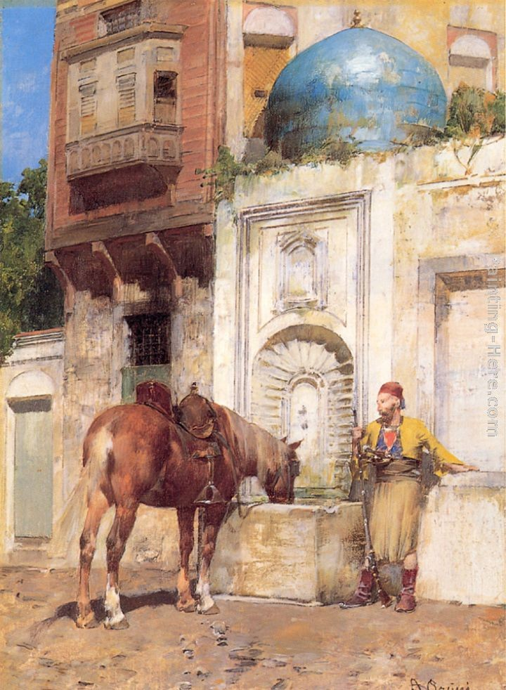 Alberto Pasini At the Well
