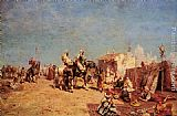 Alberto Pasini An Arab Encampment painting