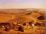 Alberto Pasini The Desert Encampment painting