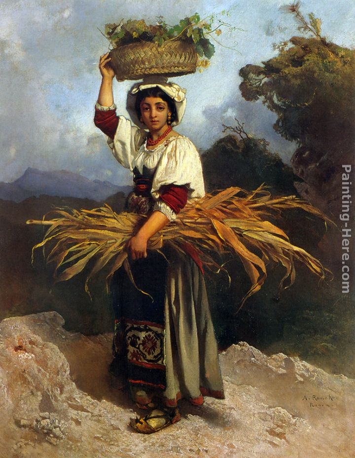 Anton romako off to market painting best paintings for sale for Prints of famous paintings for sale