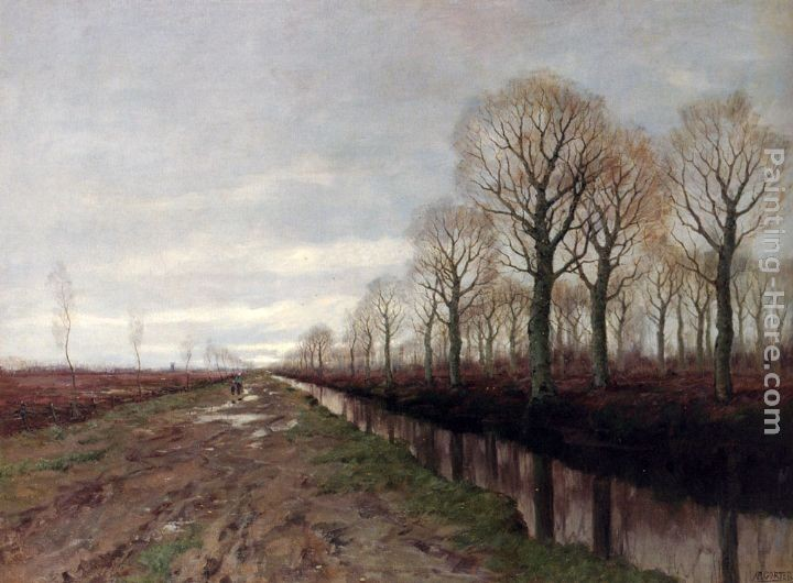 Arnold Marc Gorter After The Rain
