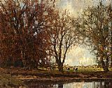 Arnold Marc Gorter A View Of The Vordense Beek painting