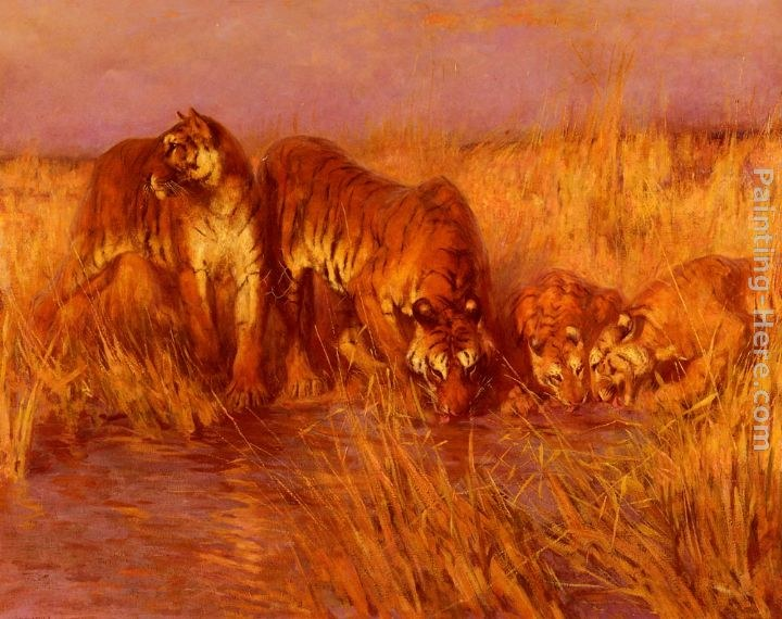 Arthur Wardle The Tiger Pool