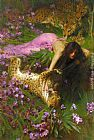 Arthur Wardle The Enchantress painting