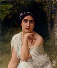 Charles Amable Lenoir Pensive painting