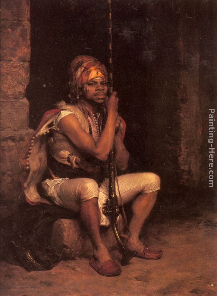 Charles Bargue The Sentinel Painting Best Paintings For Sale