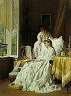Charles Baugniet The Convalescent painting