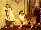 Charles Burton Barber A Special Pleader painting