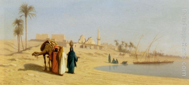 Charles Theodore Frere The Banks of the Nile