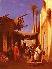 Charles Theodore Frere Street In Damascus and Street In Cairo A Pair of Painting (Pic 1)s painting