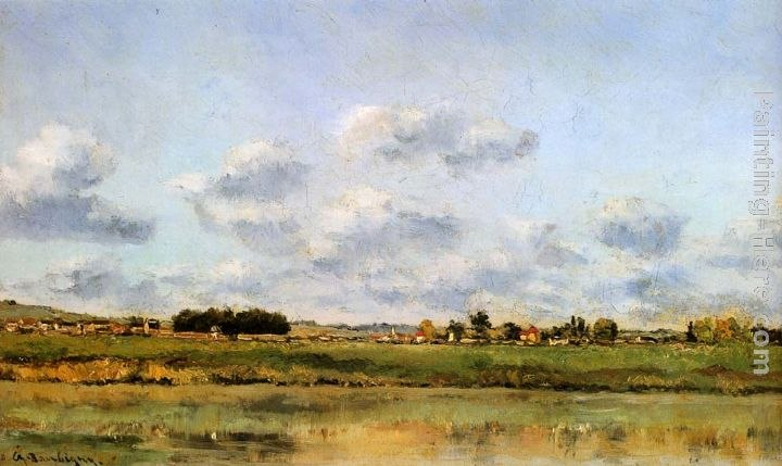 Charles-Francois Daubigny Banks Of The Loing