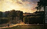 Charles-Francois Daubigny The Park At St. Cloud painting
