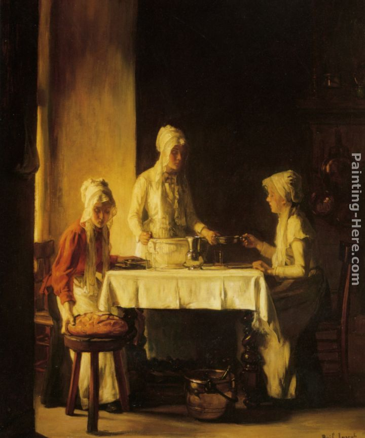 Claude Joseph Bail Preparing The Meal