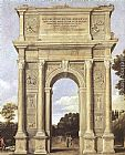 Domenichino A Triumphal Arch of Allegories painting
