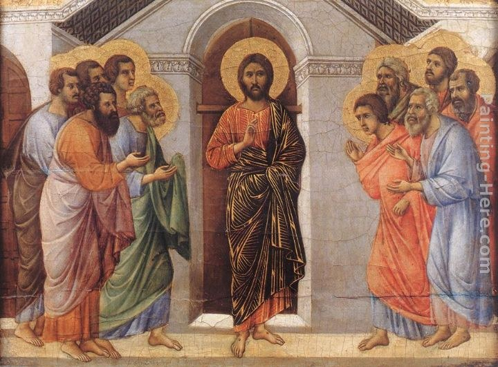Duccio di Buoninsegna Appearence Behind Locked Doors