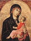 Duccio di Buoninsegna Madonna and Child (no. 593) painting