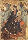 Duccio di Buoninsegna Madonna of the Franciscans painting
