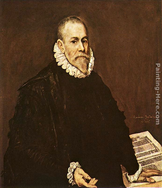 El Greco Portrait of a Doctor