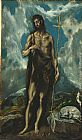 El Greco St. John the Baptist painting