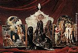 El Greco The Modena Triptych (back panels) painting