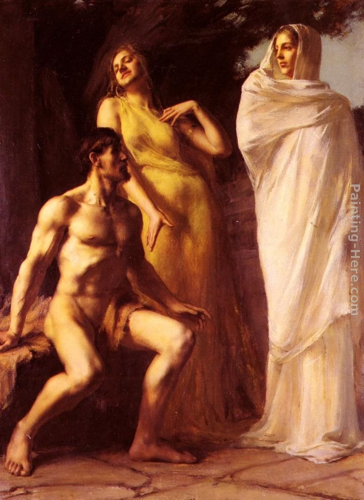 Emmanuel Benner Hercules Between Virtue And Vice