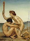 Evelyn de Morgan Phosphorus and Hesperus painting