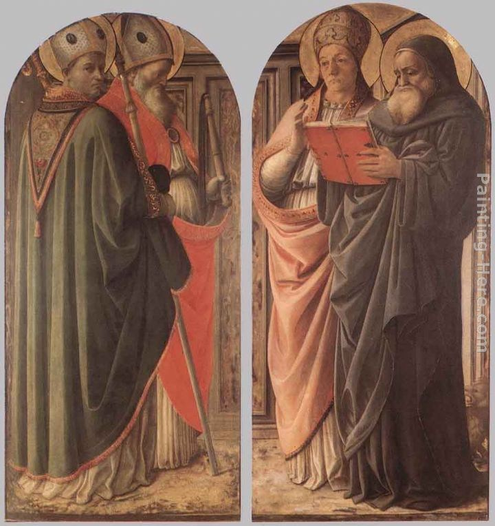Fra Filippo Lippi The Doctors of the Church