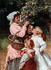 Frederick Morgan Bob Apple painting
