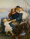 Frederick Morgan Which One Do You Love Best painting