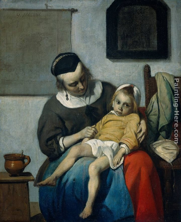 Gabriel Metsu The Sick Child