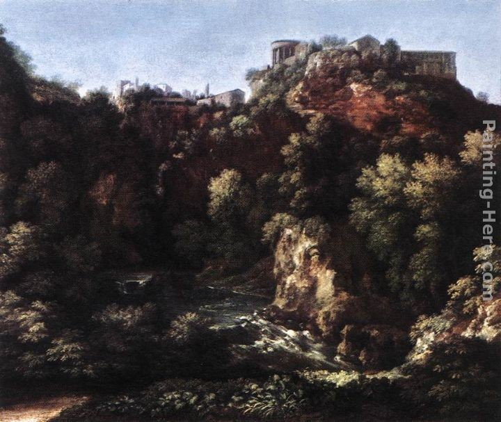 Gaspard Dughet View of Tivoli