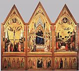 Giotto The Stefaneschi Triptych painting