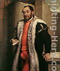 Giovanni Battista Moroni Portrait of Antonio Navagero painting