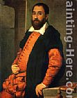 Giovanni Battista Moroni Portrait of Jacopo Foscarini painting