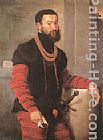 Giovanni Battista Moroni Portrait of a Soldier painting