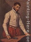 Giovanni Battista Moroni The Taylor painting