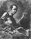 Giovanni Battista Piranesi Self-Portrait painting