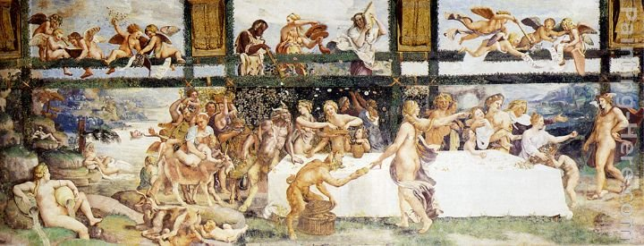 Giulio Romano The Country Banquet