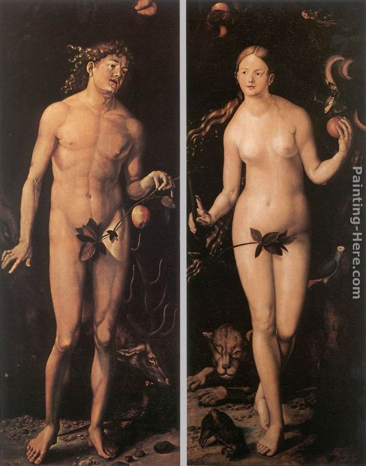 Hans Baldung Adam and Eve