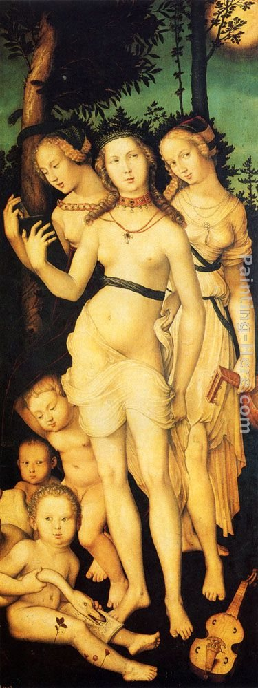 Hans Baldung Harmony Of The Three Graces