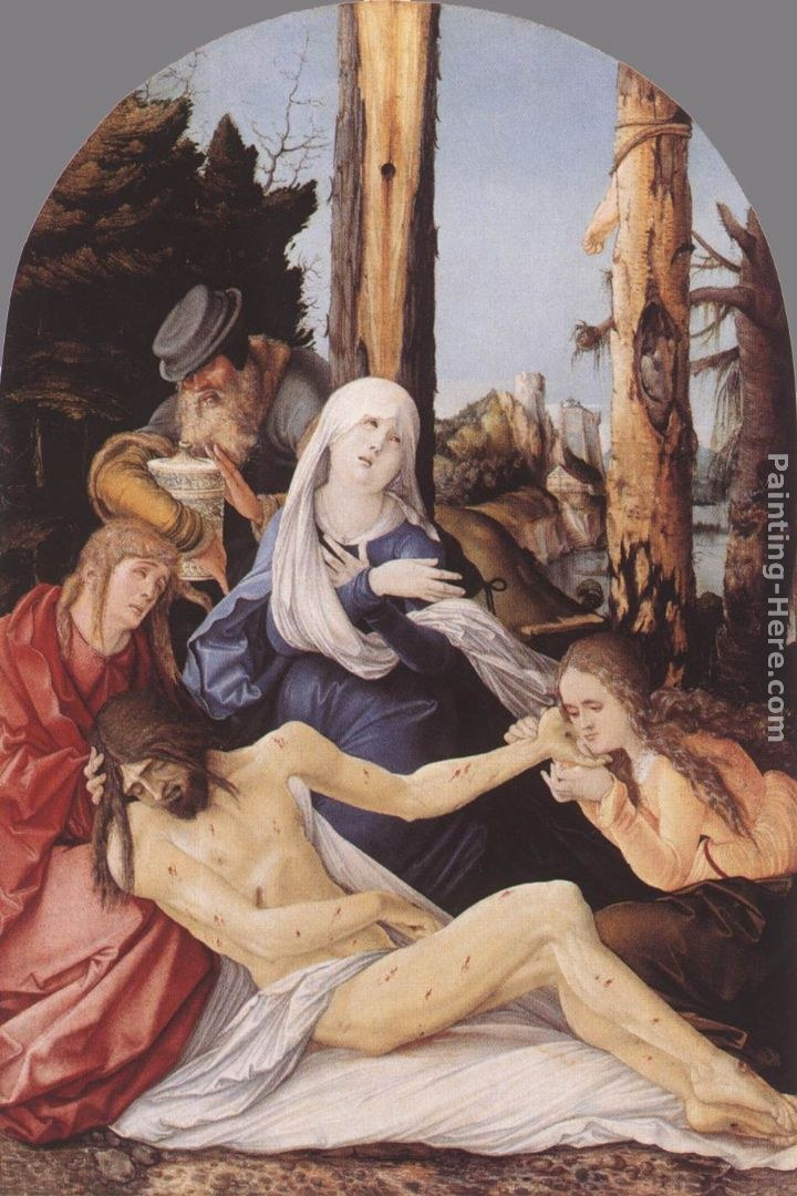 Hans Baldung The Lamentation of Christ