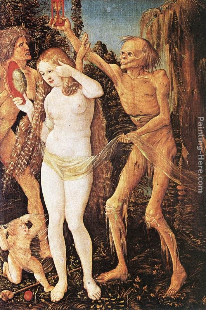 Hans Baldung Three Ages of the Woman and the Death