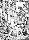 Hans Baldung Aristotle and Phyllis painting