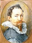 Hendrick Goltzius Self-Portrait painting