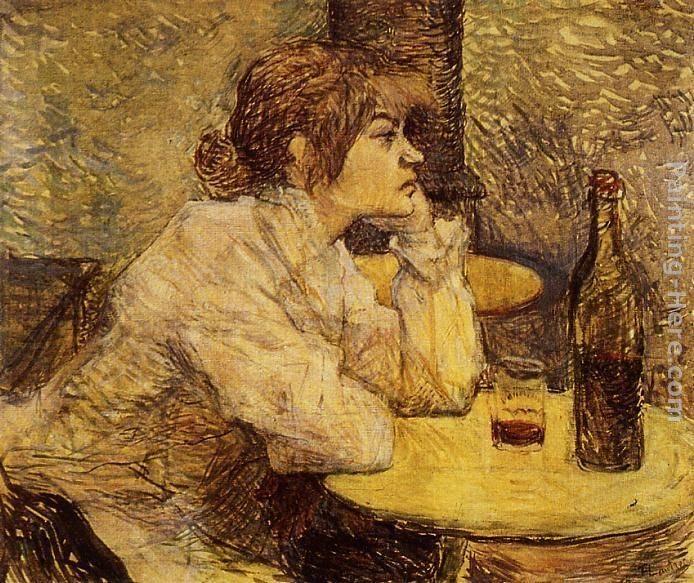 Henri de toulouse lautrec hangover painting best for Toulouse lautrec works
