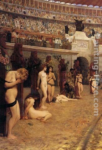 Herbert Gustave Schmalz Faithful Unto Death